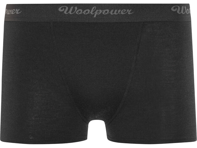 Woolpower Lite Zwemboxers Heren, black
